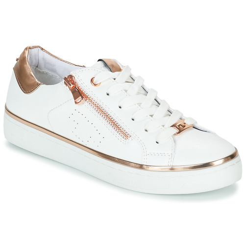 Chaussures Femme Baskets basses Tom Tailor 6992603-WHITE Blanc