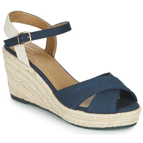 Chaussures Femme Sandales et Nu-pieds Tom Tailor PEJI Marine