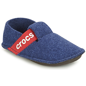 Chaussures Enfant Chaussons Crocs CLASSIC SLIPPER K Bleu