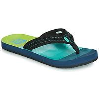 Chaussures Garçon Tongs Reef KIDS AHI Bleu / Vert