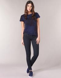 Vêtements Femme Jeans skinny G-Star Raw LYNN D-MID SUPER SKINNY Bleu Rinsed