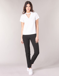 Vêtements Femme Chinos / Carrots G-Star Raw D-STAQ MID SKINNY ANKLE CHINO Noir