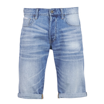 Vêtements Homme Shorts / Bermudas G-Star Raw 3302 12 Bleu Light Aged