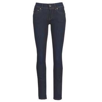 Vêtements Femme Jeans droit G-Star Raw MIDGE SADDLE MID STRAIGHT Bleu Dark Aged