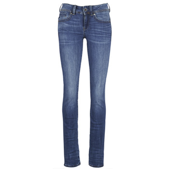 Vêtements Femme Jeans droit G-Star Raw MIDGE SADDLE MID STRAIGHT Bleu