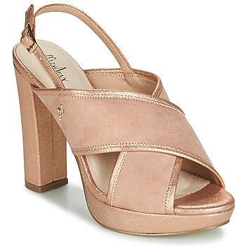 Chaussures Femme Sandales et Nu-pieds Menbur VILLALBA Rose gold