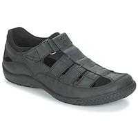 Chaussures Homme Sandales et Nu-pieds Panama Jack MERIDIAN Noir