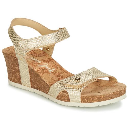 Chaussures Femme Sandales et Nu-pieds Panama Jack JULIA Doré