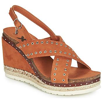 Chaussures Femme Sandales et Nu-pieds Xti 48922 Cognac