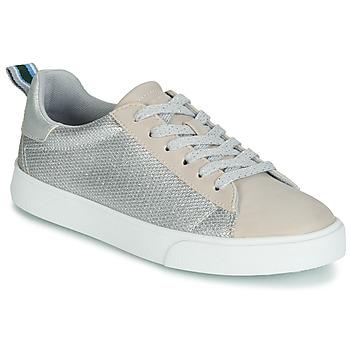 Chaussures Femme Baskets basses Esprit CHERRY GLIMMER LU Beige