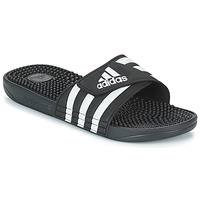 Chaussures Claquettes adidas Performance ADISSAGE Noir / Blanc