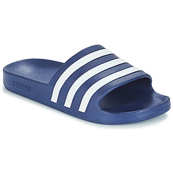 Chaussures Claquettes adidas Performance ADILETTE AQUA Bleu