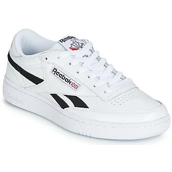 0394afc3c25ba Chaussures Baskets basses Reebok Classic REVENGE PLUS MU Blanc   Noir