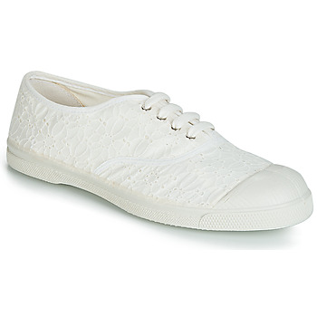 Chaussures Femme Baskets basses Bensimon TENNIS BRODERIE ANGLAISE Blanc