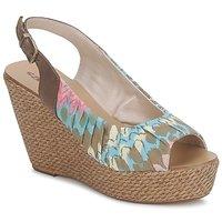 Chaussures Femme Sandales et Nu-pieds Sans Interdit RICO Multicolore