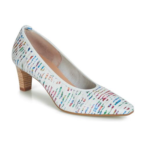 Chaussures Femme Escarpins Perlato MORTY Blanc