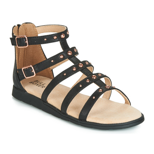 Chaussures Fille Sandales et Nu-pieds Bullboxer AGG021 Noir