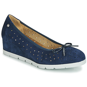 Chaussures Femme Ballerines / babies Stonefly MILLY 2 GOAT SUEDE Bleu