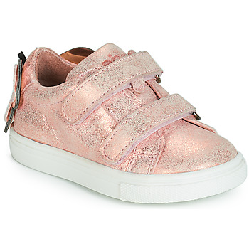 Chaussures Fille Baskets basses Acebo's BAMBU Rose