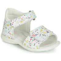 Chaussures Fille Sandales et Nu-pieds Primigi 3407033 Blanc