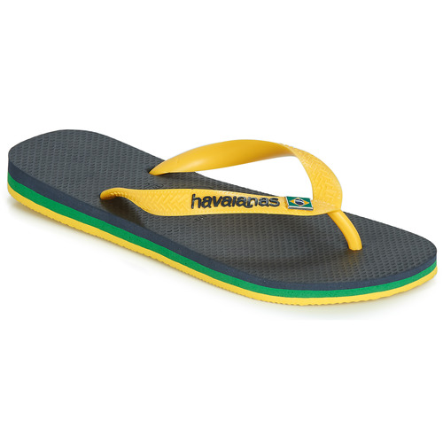Chaussures Tongs Havaianas BRASIL LAYERS Marine