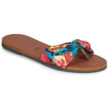 Chaussures Femme Tongs Havaianas YOU ST TROPEZ Fleuri