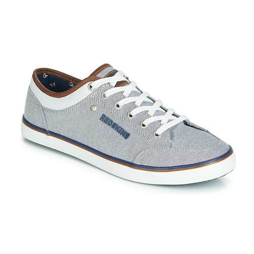 Chaussures Homme Baskets basses Redskins GALETI Gris / Blanc