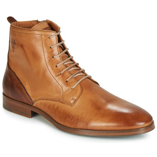 Chaussures Homme Boots Kost NICHE 39 Cognac