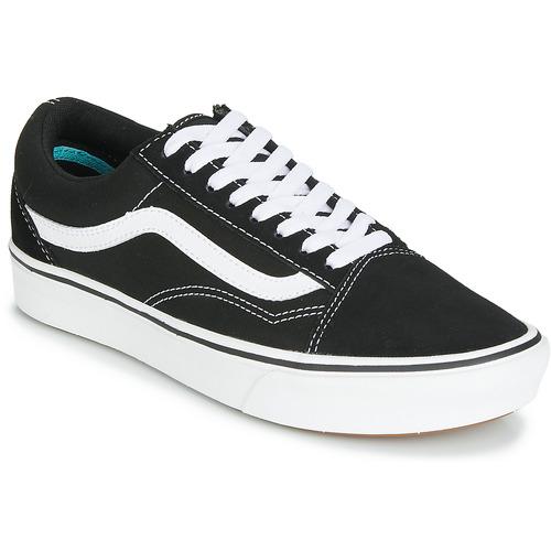 Chaussures Baskets basses Vans COMFYCUSH OLD SKOOL Noir / Blanc