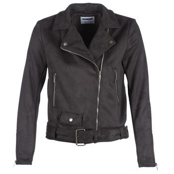 Vêtements Femme Vestes en cuir / synthétiques Noisy May NMCHRIZZY Noir