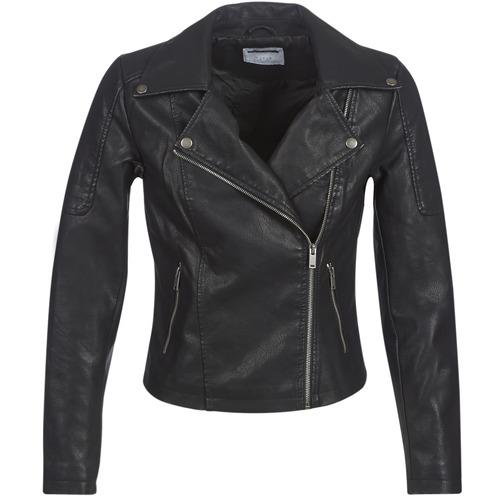 Vêtements Femme Vestes en cuir / synthétiques Noisy May NMREBEL Noir