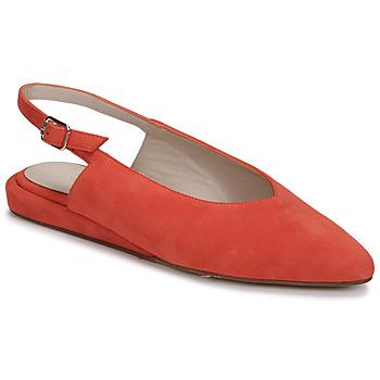 Chaussures Femme Ballerines / babies Fericelli IKIRUA Rouge