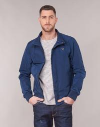 Vêtements Homme Blousons Scotch & Soda AMS BLAUW SIMPLE HARRINGTON JACKET Marine