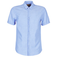 Vêtements Homme Chemises manches courtes Scotch & Soda REGULAR FIT AMS BLAUW ALLOVER PRINT SHIRT IN SEASONAL PATTER Bleu