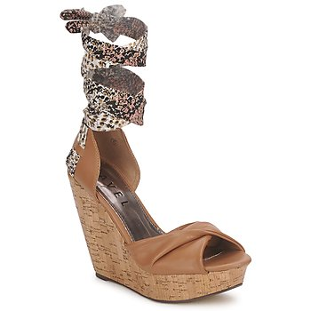 Chaussures Femme Sandales et Nu-pieds Ravel JEMMA Camel