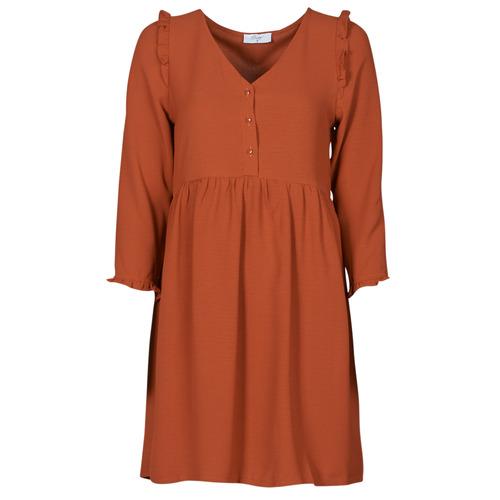 Vêtements Femme Robes courtes Betty London JOELIE Marron
