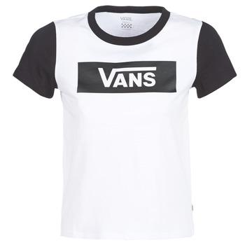 Vêtements Femme T-shirts manches courtes Vans V TANGLE RANGE RINGER Blanc