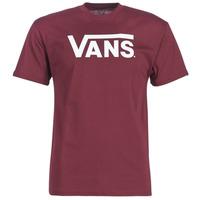 Vêtements Homme T-shirts manches courtes Vans VANS CLASSIC Bordeaux