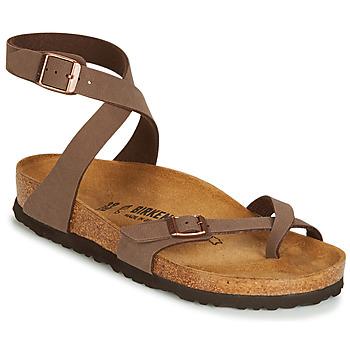 Chaussures Femme Sandales et Nu-pieds Birkenstock YARA Marron
