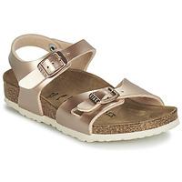 Chaussures Fille Sandales et Nu-pieds Birkenstock RIO GOLD