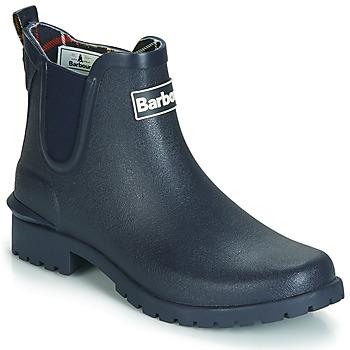 Chaussures Femme Bottes de pluie Barbour WILTON Bleu