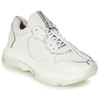 Chaussures Femme Baskets basses Bronx BAISLEY Blanc / Argent
