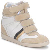 Chaussures Femme Baskets basses Serafini MANATHAN SCRATCH WHITE-BEIGE-BLUE