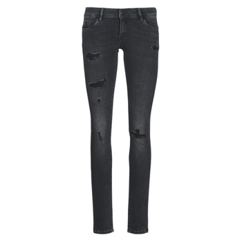 Vêtements Femme Jeans slim Kaporal LOKA Noir