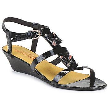 Chaussures Air max tnFemme Sandales et Nu-pieds Stephane Gontard MALIBU Noir