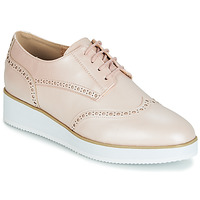 Chaussures Femme Derbies Moony Mood INDO Rose Nacré