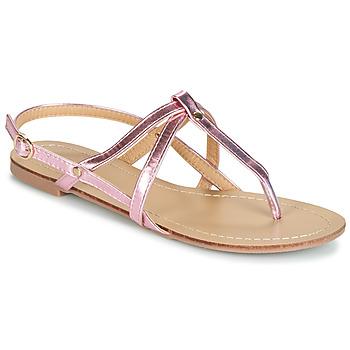 Chaussures Femme Sandales et Nu-pieds Moony Mood JEKERINE Rose métal