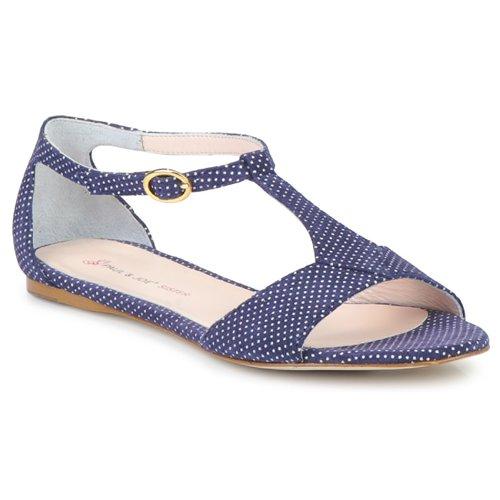 Chaussures Femme Sandales et Nu-pieds Paul & Joe Sister PERRY Marine/Blanc