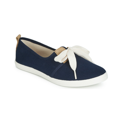 Chaussures Femme Baskets basses Yurban ISOURITE Marine