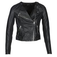 Vêtements Femme Vestes en cuir / synthétiques Vero Moda VMRIA FAV Noir